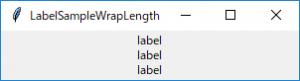 LabelSampleWrapLength